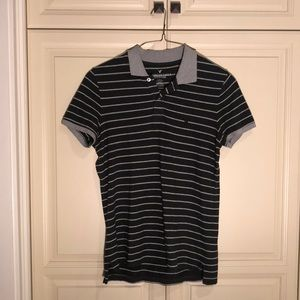 American Eagle Collared Adult Small Shirt